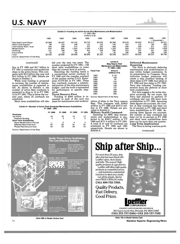 Maritime Reporter Magazine, page 22,  Jun 1989 Spider Staging Corp. Corporate Office Seattle