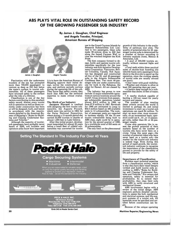 Maritime Reporter Magazine, page 46,  Jun 1989 Hawaii