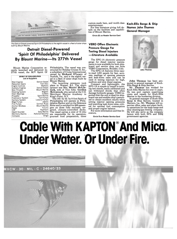Maritime Reporter Magazine, page 10,  Jul 1989