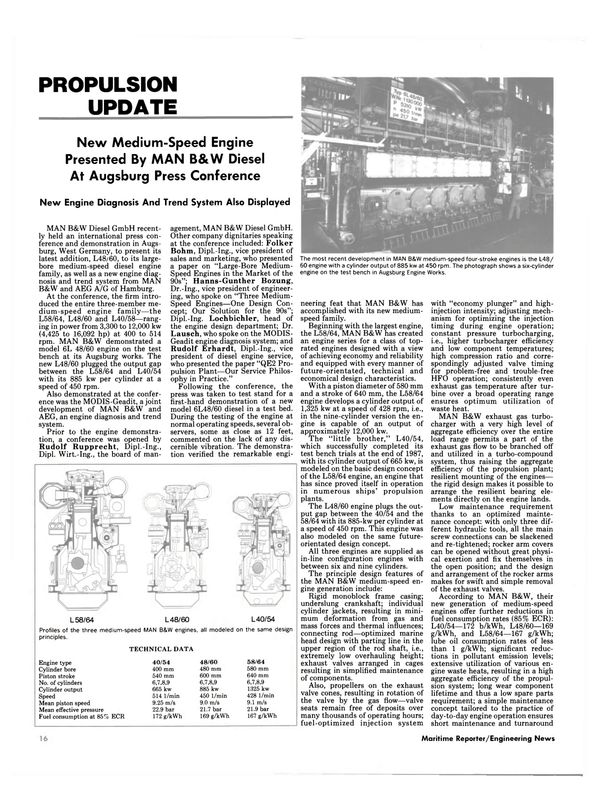 Maritime Reporter Magazine, page 14,  Jul 1989