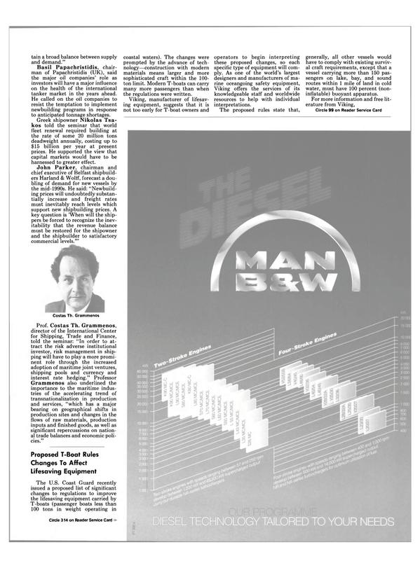 Maritime Reporter Magazine, page 7,  Jul 1989
