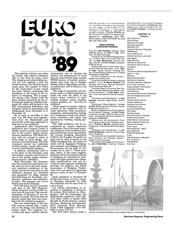 Maritime Reporter Magazine, page 16,  Oct 1989 Nicola Hindle