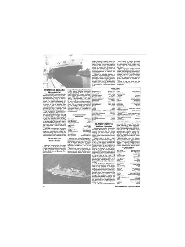 Maritime Reporter Magazine, page 20,  Dec 1989 Echo