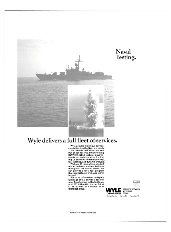 Maritime Reporter Magazine, page 24,  May 1990 Navy