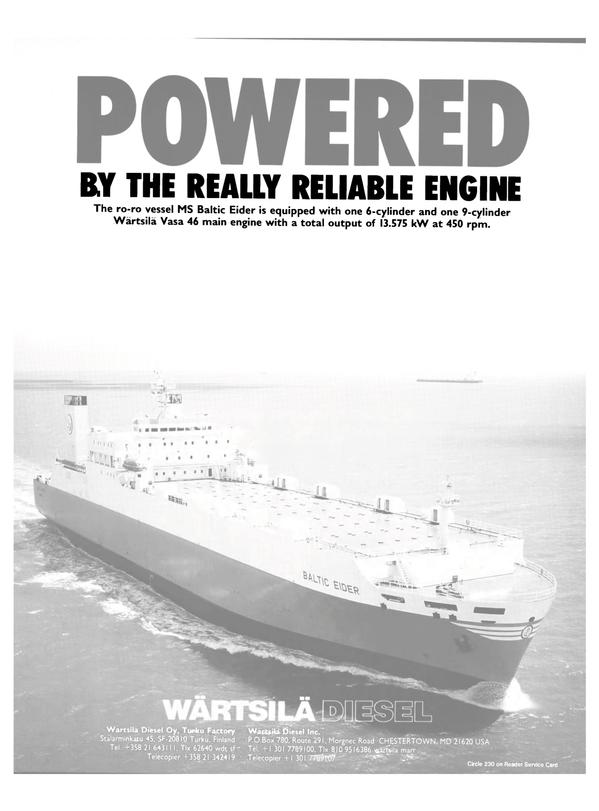 Maritime Reporter Magazine, page 16,  Jul 1990 United States