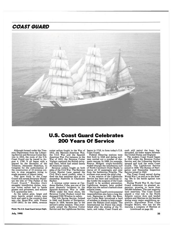 Maritime Reporter Magazine, page 36,  Jul 1990 North Carolina