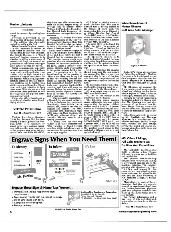 Maritime Reporter Magazine, page 55,  Jul 1990