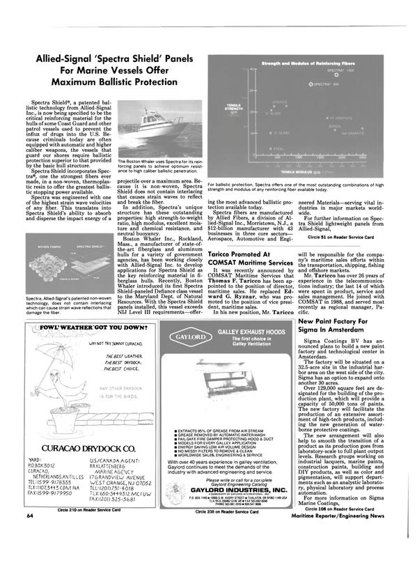 Maritime Reporter Magazine, page 67,  Jul 1990