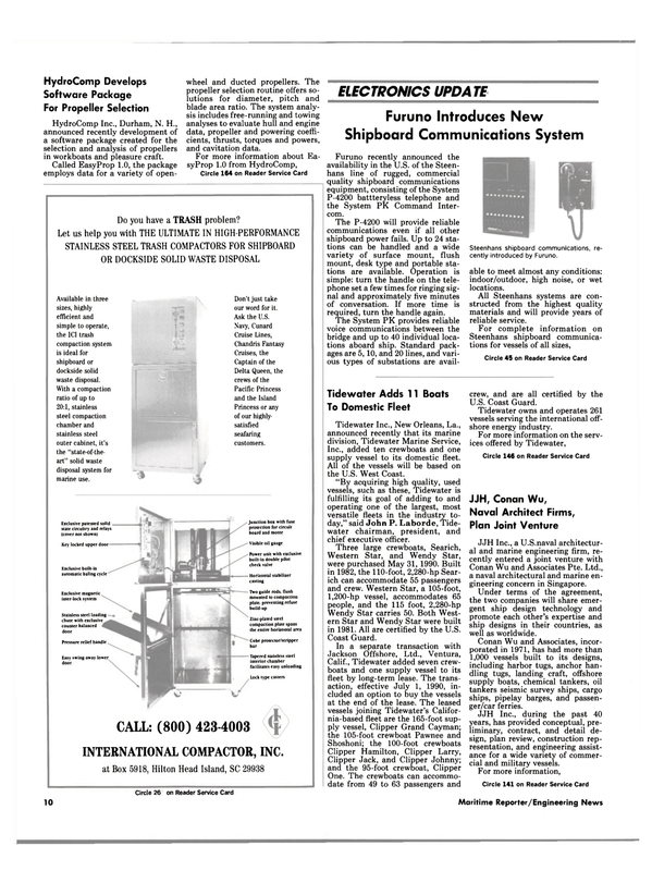 Maritime Reporter Magazine, page 8,  Aug 1990 New Hampshire