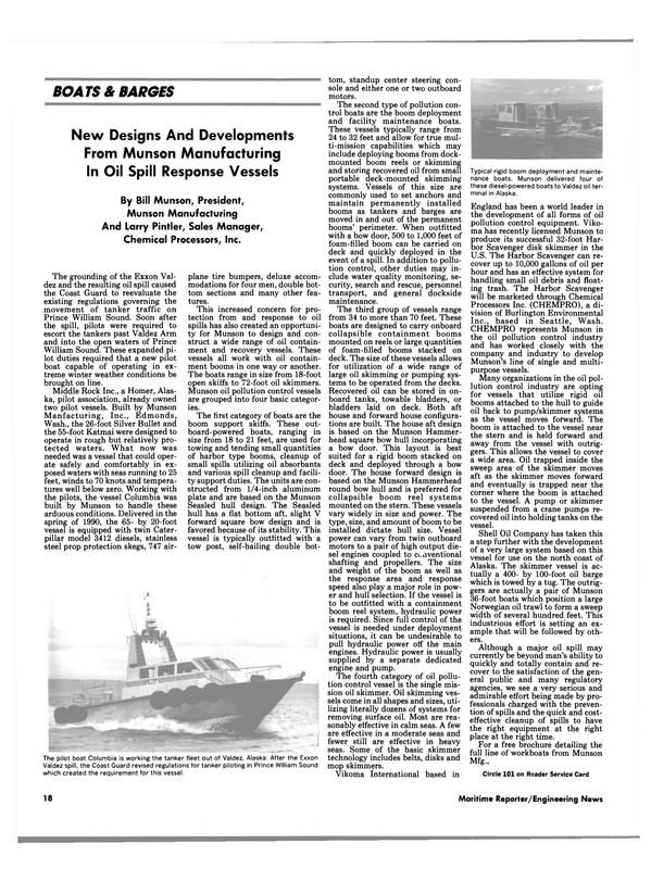 Maritime Reporter Magazine, page 16,  Aug 1990 Alas