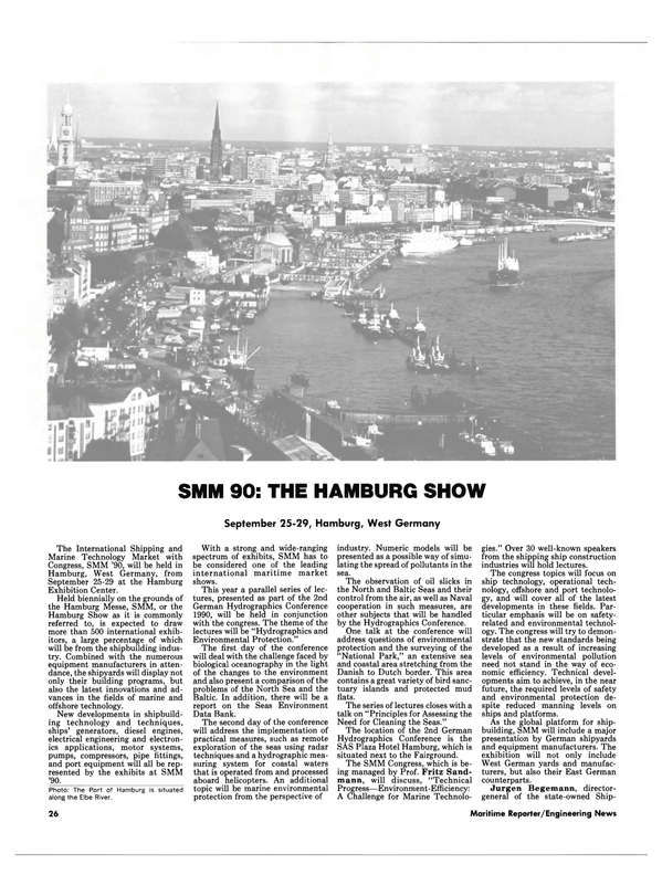 Maritime Reporter Magazine, page 24,  Sep 1990 Fritz Sand