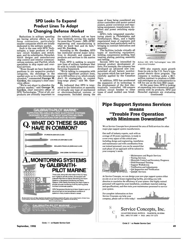 Maritime Reporter Magazine, page 47,  Sep 1990 Massachusetts
