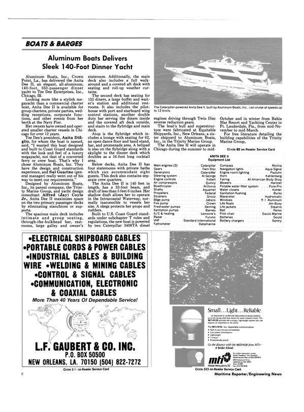 Maritime Reporter Magazine, page 6,  Sep 1990 Pilot