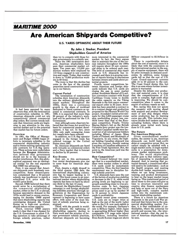 Maritime Reporter Magazine, page 15,  Dec 1990 Organization for Economic Cooperation and Devel