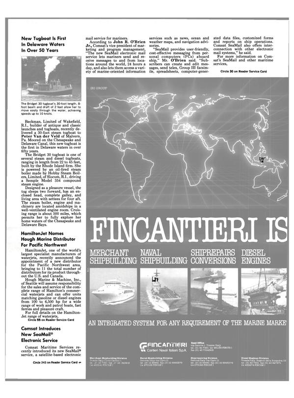 Maritime Reporter Magazine, page 17,  Dec 1990 Brien Jr