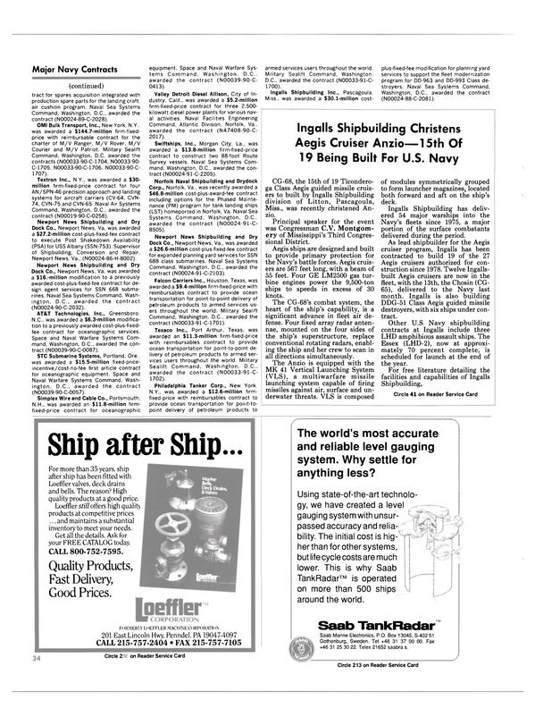 Maritime Reporter Magazine, page 32,  Dec 1990