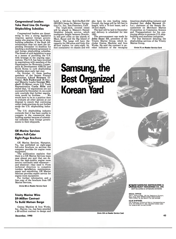 Maritime Reporter Magazine, page 41,  Dec 1990 Maine