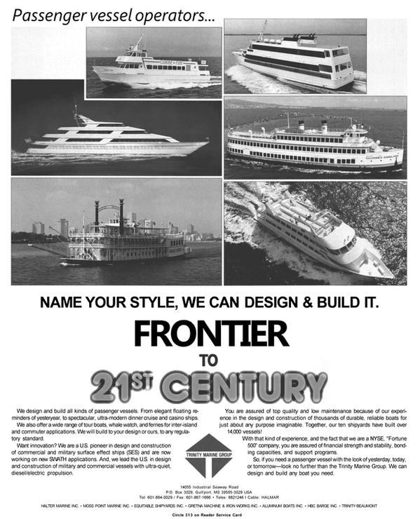 Maritime Reporter Magazine, page 11,  Jan 1991 Gulf port