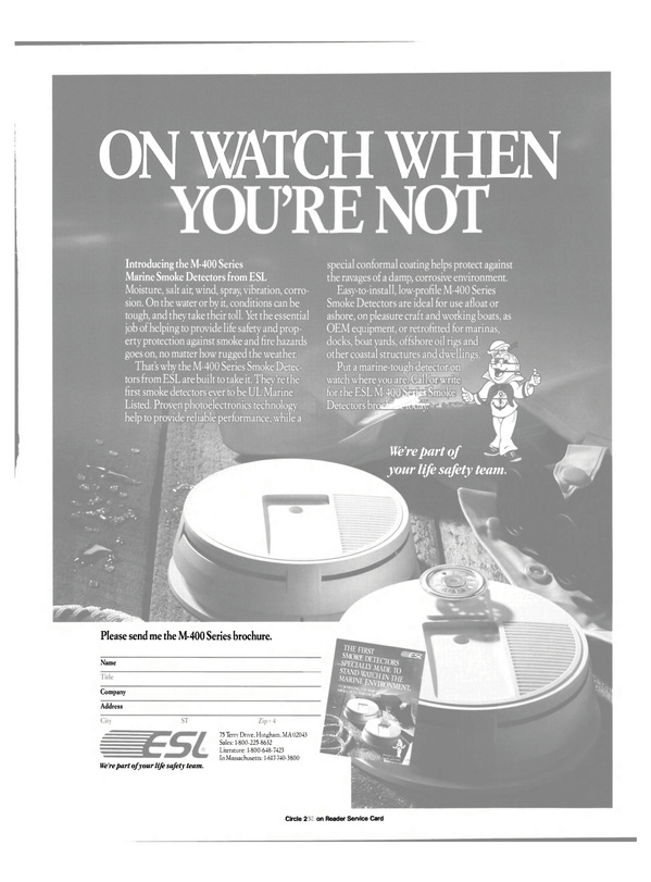 Maritime Reporter Magazine, page 11,  Feb 1991 Massachusetts