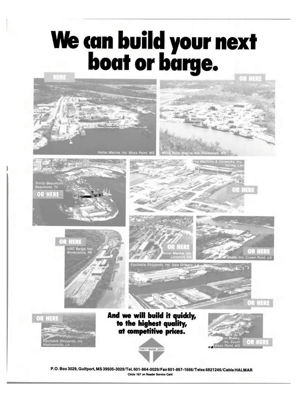 Maritime Reporter Magazine, page 19,  Feb 1991