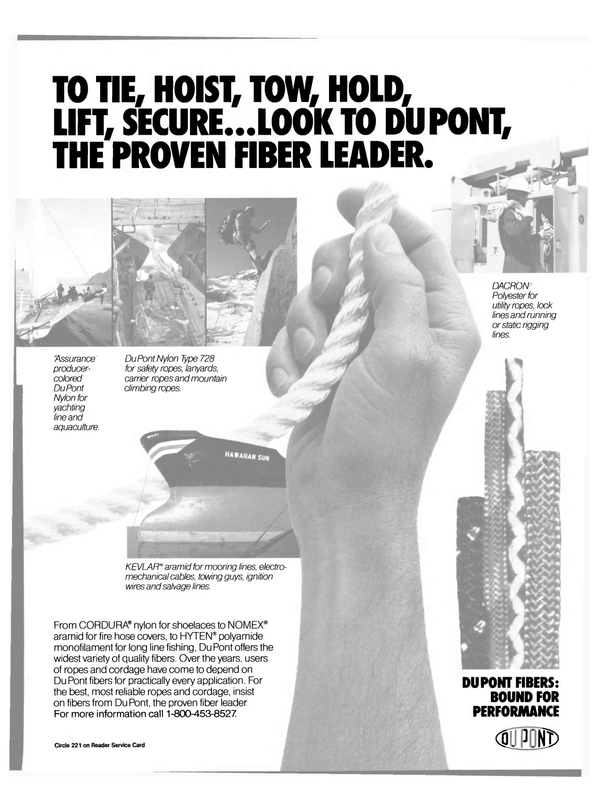 Maritime Reporter Magazine, page 27,  Feb 1991 DuPont