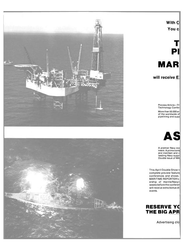 Maritime Reporter Magazine, page 60,  Feb 1991