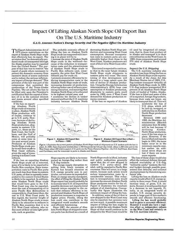 Maritime Reporter Magazine, page 68,  Feb 1991 Gulf of Mexico