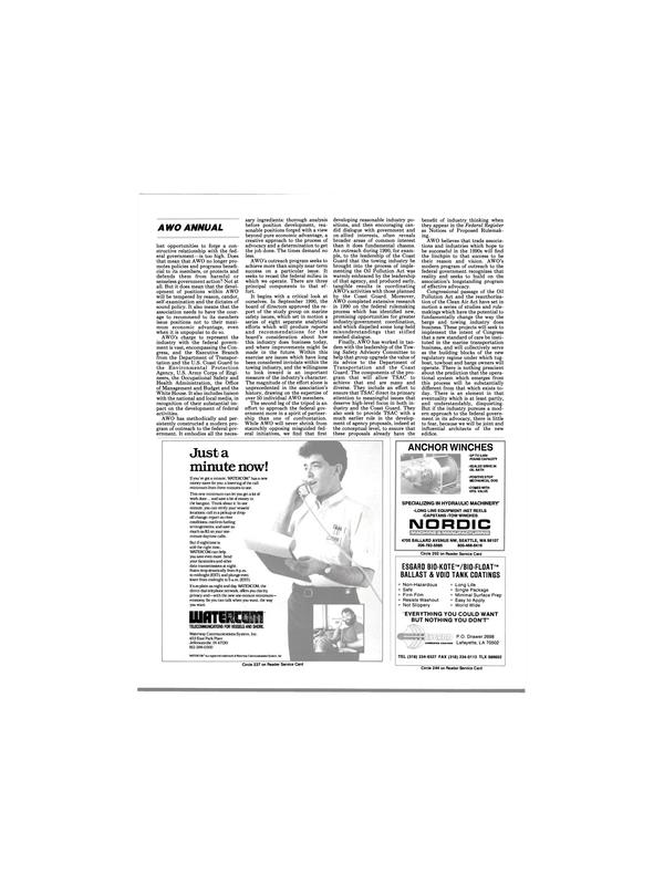 Maritime Reporter Magazine, page 21,  Mar 1991 Louisiana