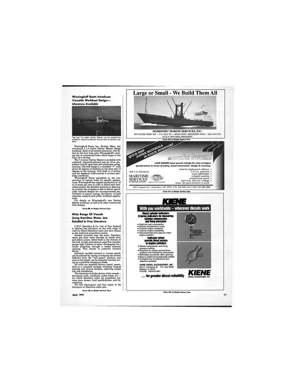 Maritime Reporter Magazine, page 9,  Apr 1991 JACK P. EDWARDS