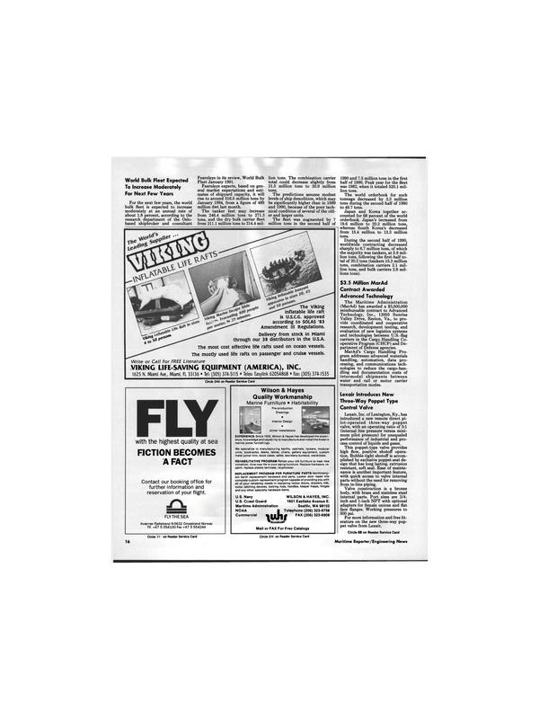 Maritime Reporter Magazine, page 14,  Apr 1991 Virginia