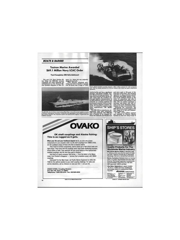 Maritime Reporter Magazine, page 16,  Apr 1991 West Coast