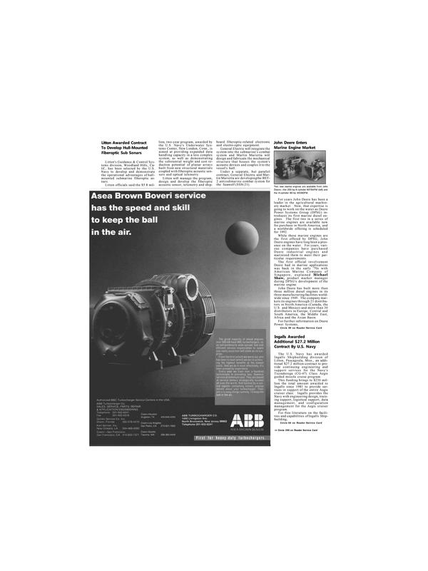 Maritime Reporter Magazine, page 6,  Nov 1991