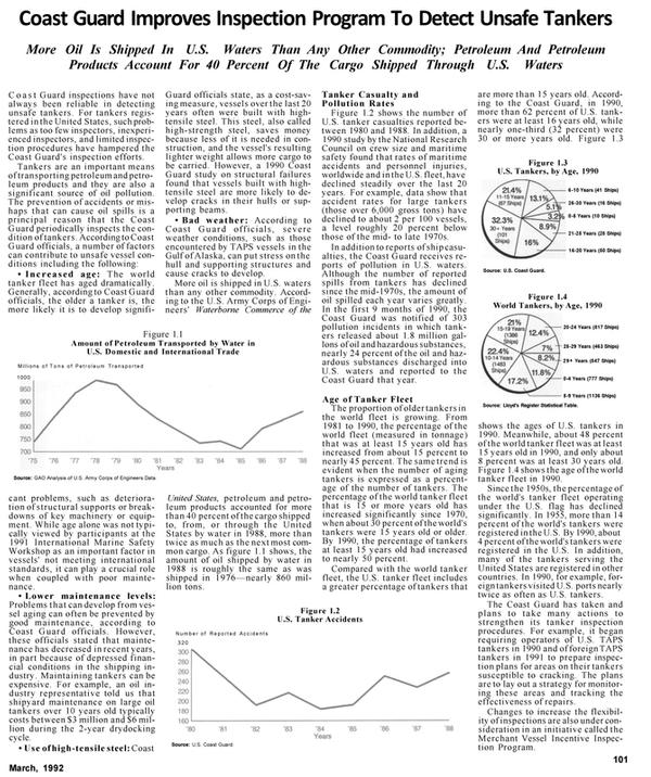 Maritime Reporter Magazine, page 53,  Mar 1992