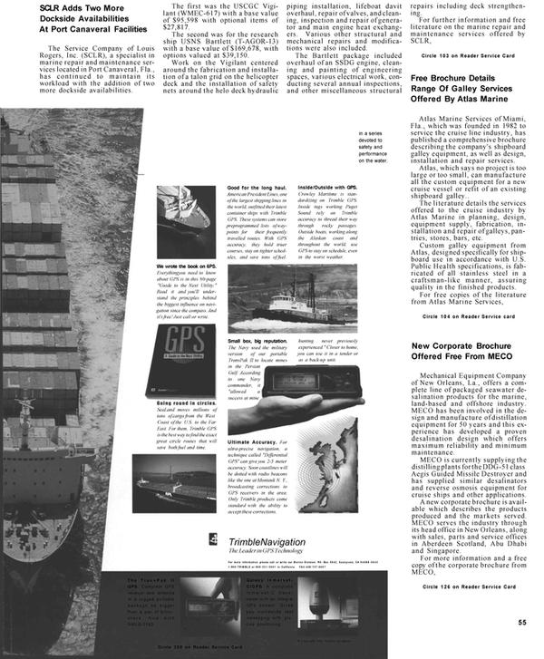 Maritime Reporter Magazine, page 55,  Mar 1992 Persian Gulf