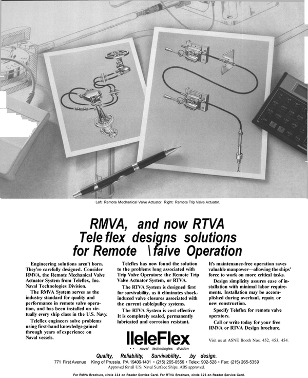 Maritime Reporter Magazine, page 11,  Apr 1992 designs solutions