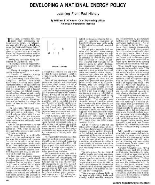 Maritime Reporter Magazine, page 32,  Apr 1992