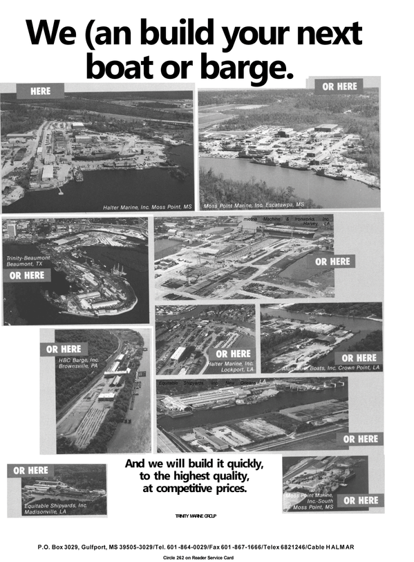 Maritime Reporter Magazine, page 76,  Apr 1992