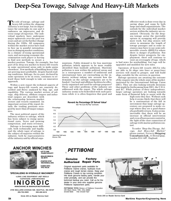 Maritime Reporter Magazine, page 56,  May 1992