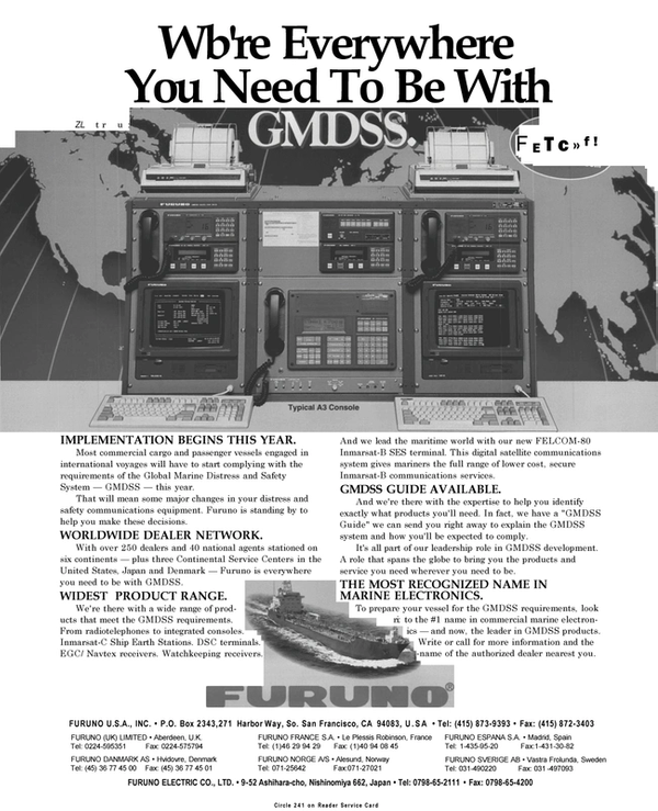 Maritime Reporter Magazine, page 8,  Sep 1994