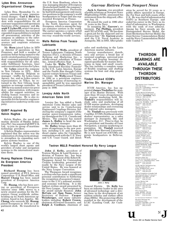 Maritime Reporter Magazine, page 40,  Sep 1994 Latin America
