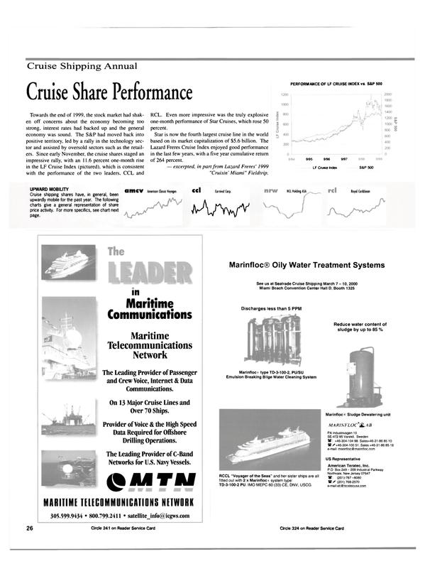 Maritime Reporter Magazine, page 26,  Feb 2000