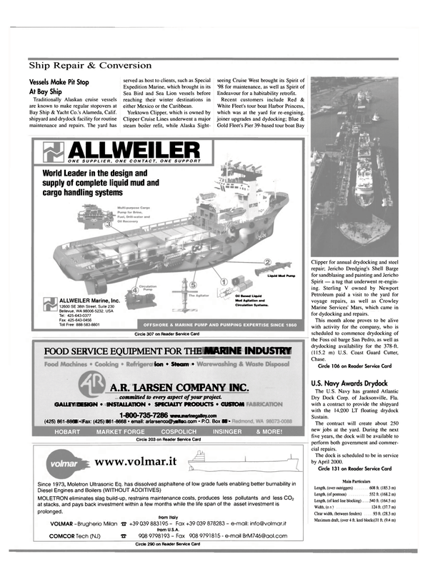 Maritime Reporter Magazine, page 30,  Mar 2000