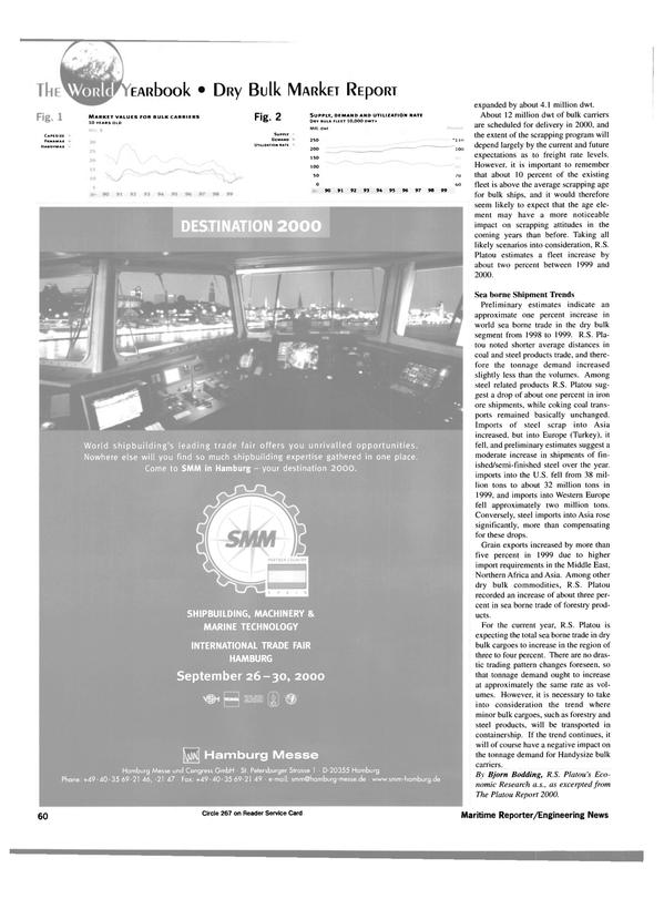 Maritime Reporter Magazine, page 64,  Jun 15, 2000