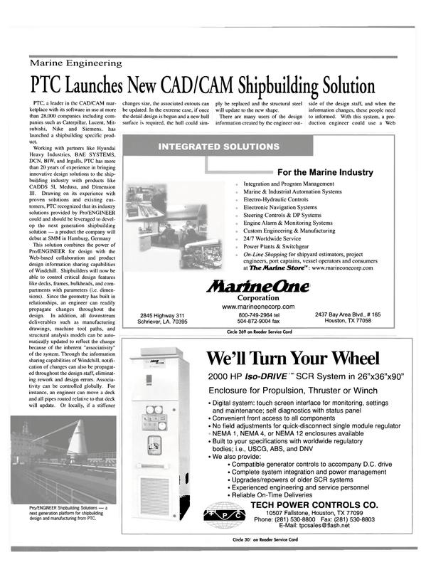 Maritime Reporter Magazine, page 25,  Sep 2000 MIT
