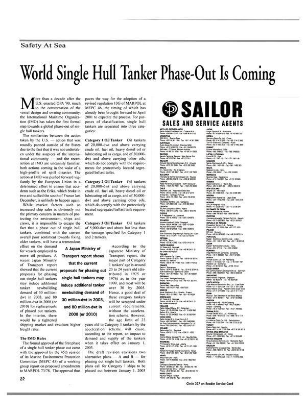 Maritime Reporter Magazine, page 24,  Nov 2000