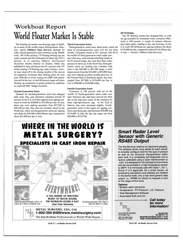 Maritime Reporter Magazine, page 31,  Nov 2000 New Jersey