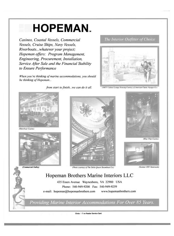 Maritime Reporter Magazine, page 45,  Nov 2000