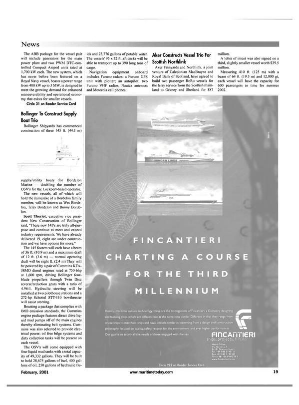 Maritime Reporter Magazine, page 19,  Feb 2001 Scott Theriot