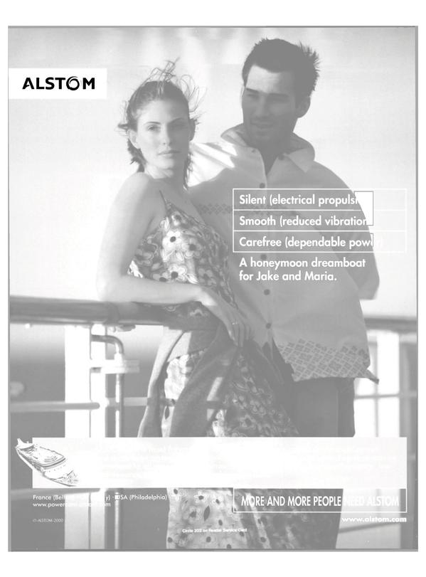 Maritime Reporter Magazine, page 58,  Feb 2001 Alstom