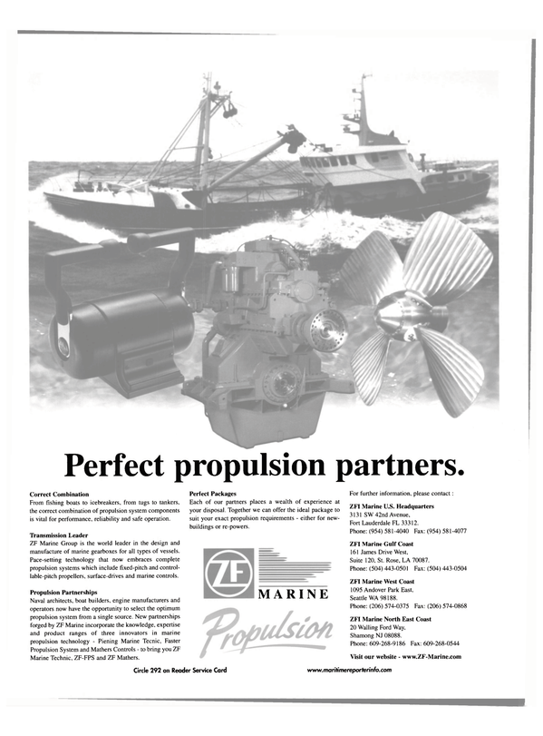 Maritime Reporter Magazine, page 44,  Jul 2001 West Coast